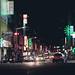 深夜的台北街頭