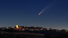 Comet NEOWISE above Regensberg