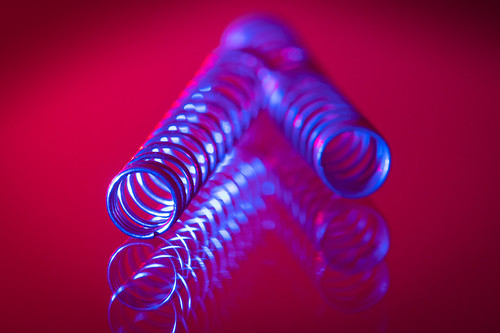 """Blue Spiral - My entry for todays Macromondays theme """"SPIRAL"""""""