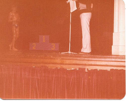 1977 26 February Mr ACT Bodybuilding Championships at the Albert Hall in Canberra ACT Australia