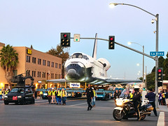 The Day The Space Shuttle Came to LA