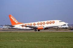 G-EZYI Boeing 737-300 easyJet Luton 04-09-99
