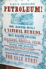 Flyer advertising petroleum as quack medicine