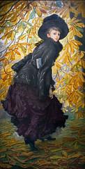 Octobre de James Tissot (Musée d'Orsay, Paris)