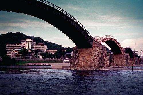 Kintai Bridge, Iwakuni, Yamaguchi Prefecture, Japan 岩国の錦帯橋、山口県