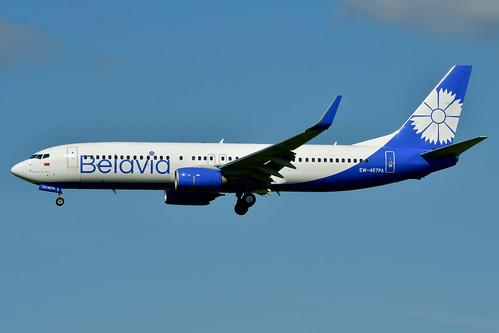EW-457PA B737-8ZM cn 61423 Belavia 200713 Schiphol 1003