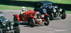 2019 Goodwood Revival . FR5189 the first supercharged Bentley racing