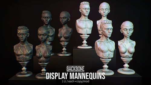 BackBone Display Mannequins