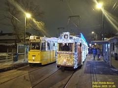 Ganz CsMG (ICS) 1451 + Ganz UV 3873 Budapest-Kelenföld, 2019. 12. 05.