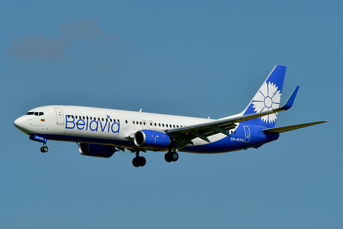 EW-457PA B737-8ZM cn 61423 Belavia 200713 Schiphol 1001