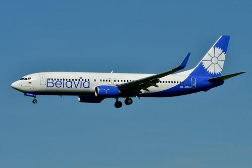 EW-457PA B737-8ZM cn 61423 Belavia 200713 Schiphol 1002
