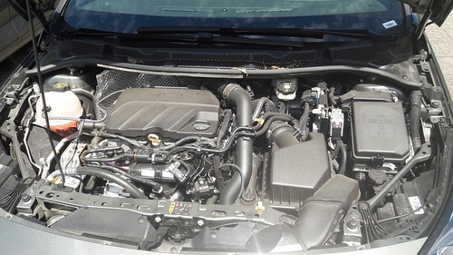 Opel Astra 1.2 3 cylinder engine