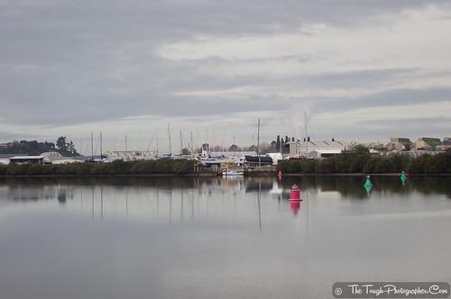 Port Road boat yard reflections