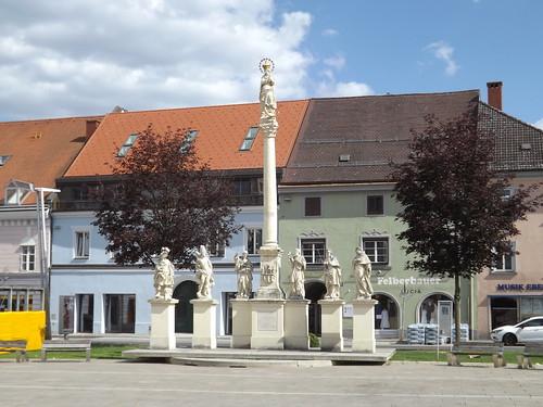 Mariensäule, Bruck an der Mur, Austria