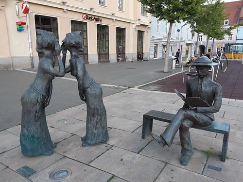 Sculptures, Bruck an der Mur, Austria