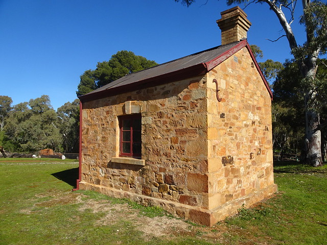 Photo:Jamestown. Bundaleer Forest Office in Bundaleer Forest. Built in the late 1870s. Bundaleer plantation forest was the first commercial forest in Australia. It began in 1875.  . By denisbin