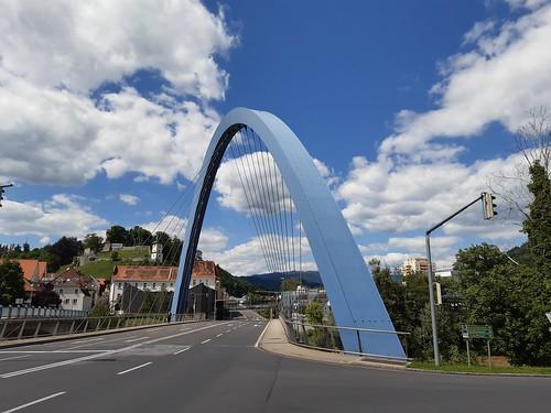 Europabrücke, Bruck an der Mur, Austria