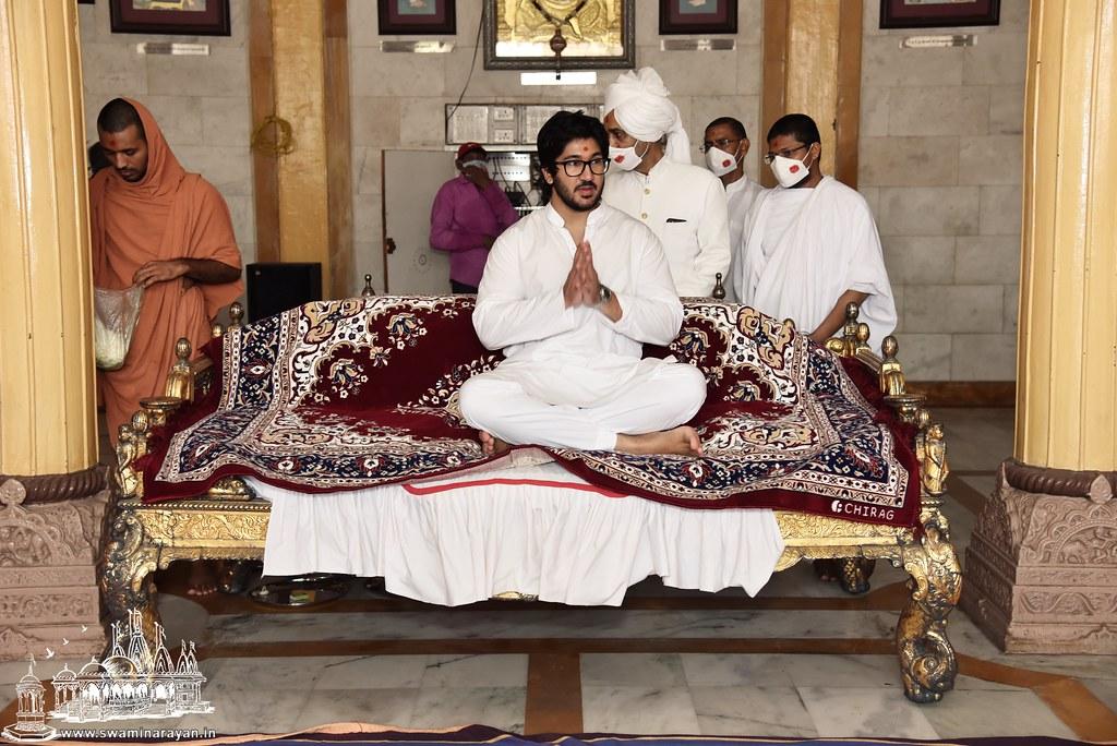 Lalji Maharajshri Birthday - Kalupur Mandir
