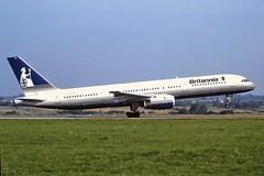 G-BYAH Boeing 757 Britannia Luton 04-09-99