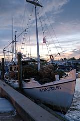 Sunset on Spongeboat