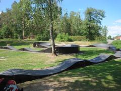 Askim Idrettspark/Folkeparken Pumptrack, Askim, Indre Østfold, Viken, Norway