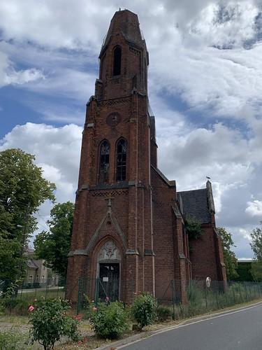Meilendorf - War damaged church