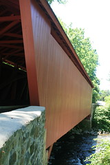 Covered Bridge at Jerusalem Mill Park Maryland