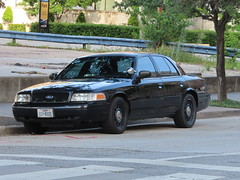 Harris County Constable Ford Crown Victoria