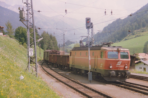 Austrian Rail at St. Anton am Arlberg, Austria