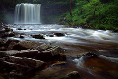 Majestic Brecon Beacons Waterfall