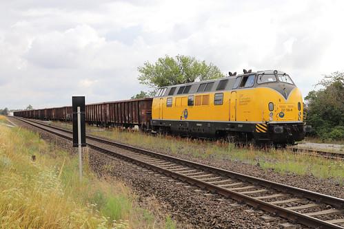 EGP 221 106-8 Güterzug, Staßfurt