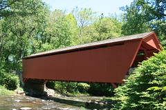 Covered Bridge at Jerusalem Mill Park Maryland