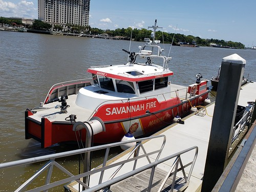 Savannah Georgia Fire Department Marine 1 boat
