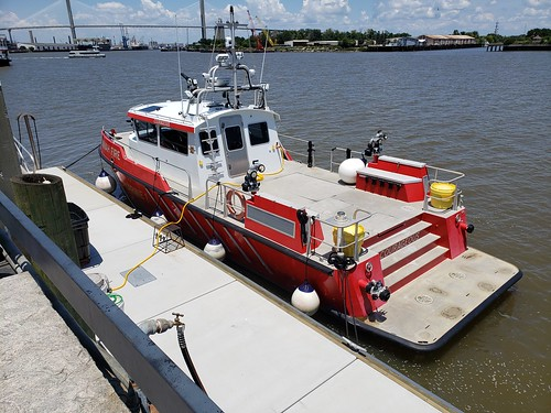 Savannah Georgia Fire Department Marine 1