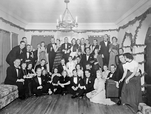 Shanghai, 1939 Christmas party