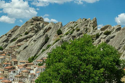 Le Piccole Dolomiti Lucane sopra Pietrapertosa