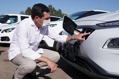 2020_07_16 - Presentación de la nueva flota de más de 100 vehículos híbridos y eléctricos para Medio Ambiente