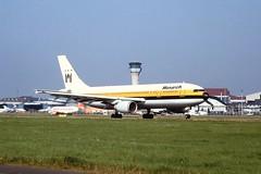 G-MAJS A300 Monarch Luton 04-09-99
