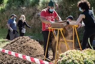 Exhumación Celeiros (Ourense) II
