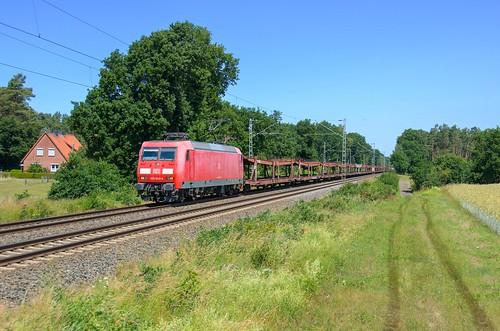 DB Cargo 145 044, Rohrsen