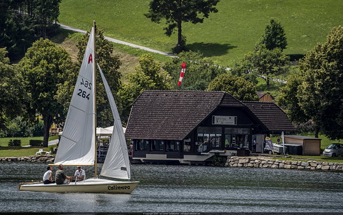 Sailing on Lake Stubenberg
