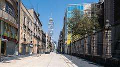 Calle Madero totalmente vacía: una escena para no olvidar
