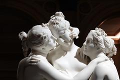 """The Three Graces"" sculpture by Canova @ Gallerie d'Italia @ Milan"