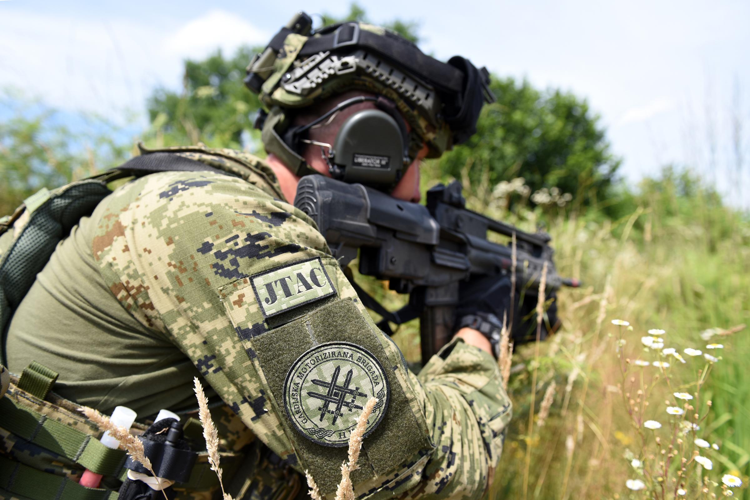 Zajednička obuka hrvatske i američke vojske u sklopu aktivnosti