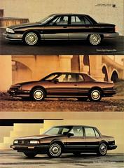 1991 Oldsmobile 98, Toronado & Eighty Eight