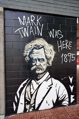 Mark Twain Was Here 1895