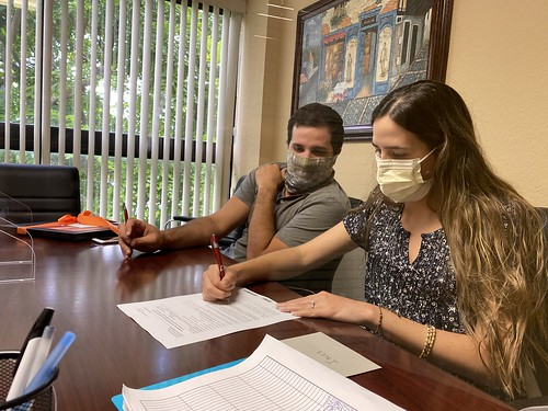 Tony & Laura closing - first time home buyers