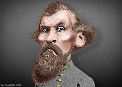 Nathan Bedford Forrest - Caricature
