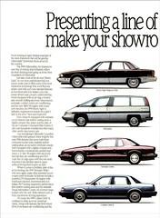 1991 Oldsmobile Ad Pg. 1