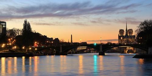 Cathédrale Notre-Dame & pont de Sully